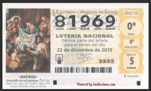 81969 – LOTERÍA DE NAVIDAD