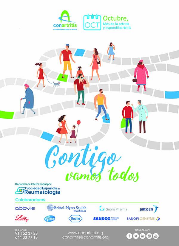 NOTA DE PRENSA: Inicio de campaña «Octubre, mes de la artritis y de la espondiloartritis»