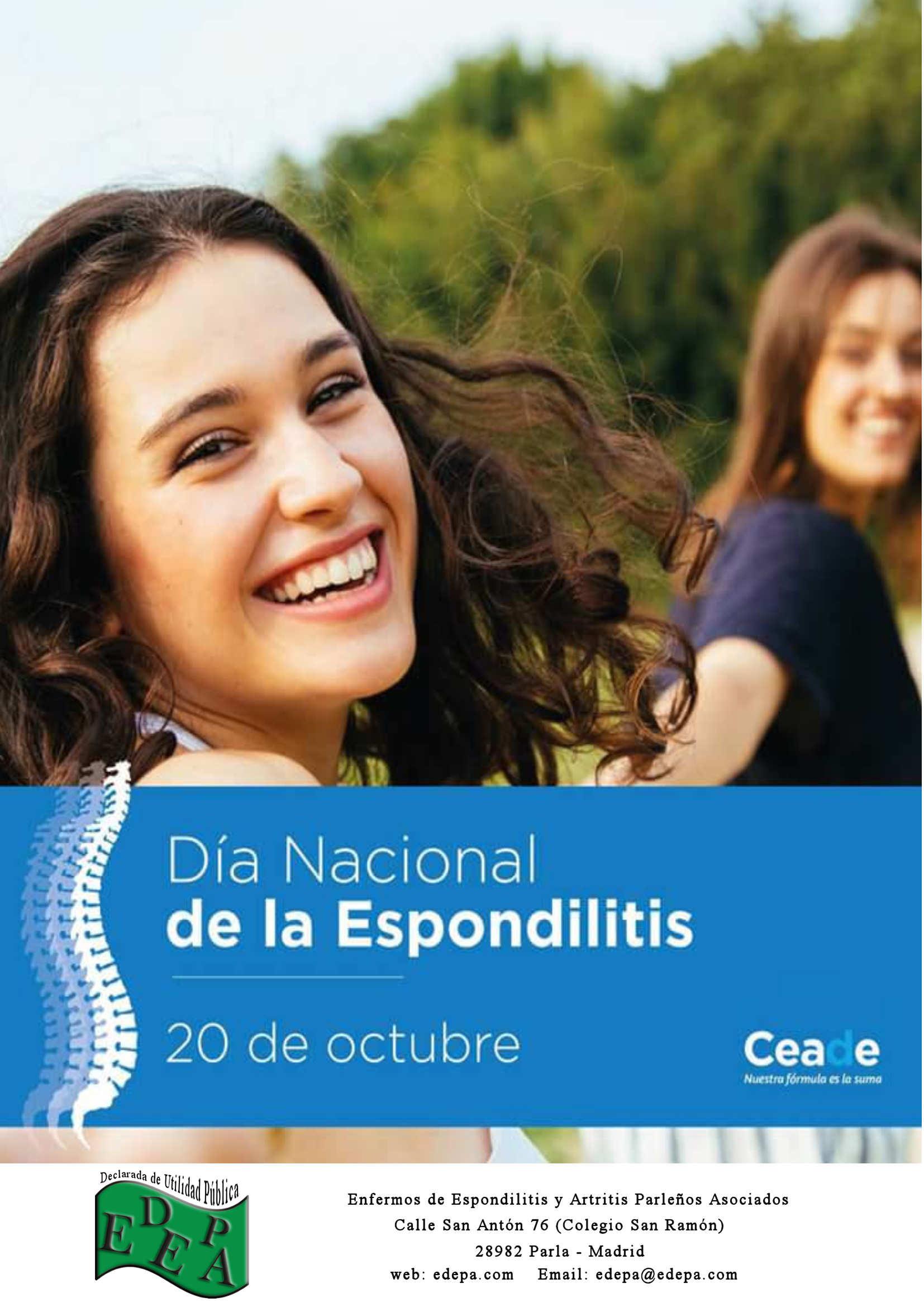 20 DE OCTUBRE – DÍA NACIONAL DE LA ESPONDILITIS