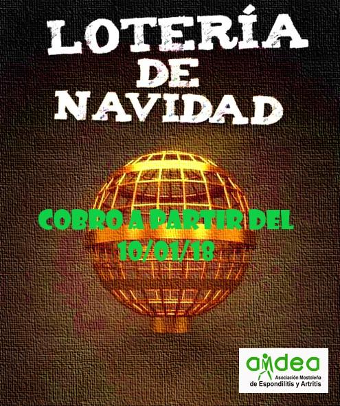 LOTERÍA DE NAVIDAD 2017 AMDEA