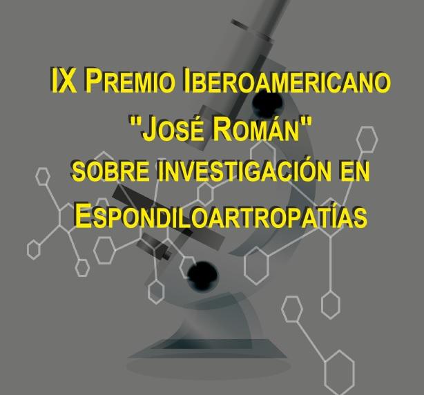 IX Premio Iberoamericano José Román de Investigación en Espondiloartropatías AMDEA (2)