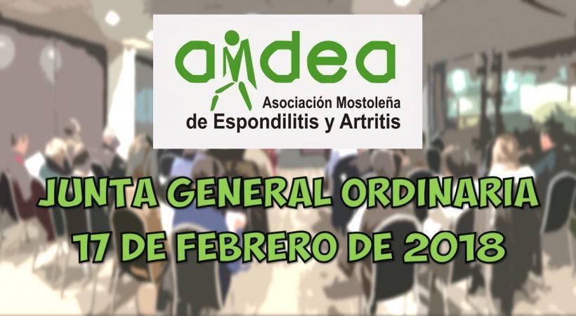 JUNTA ORDINARIA 2018 AMDEA