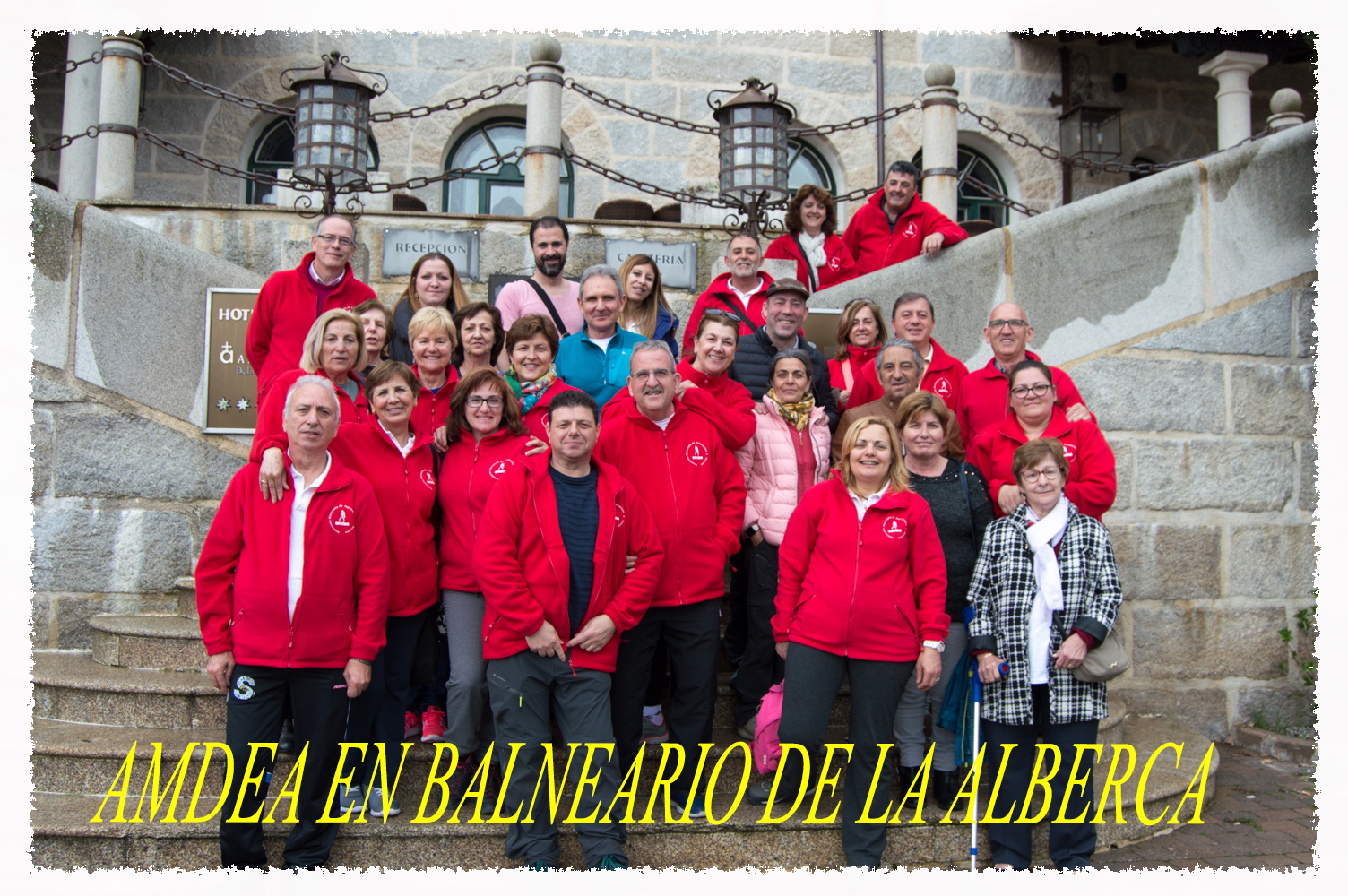 SALIDA-CONVIVENCIA AL BALNEARIO «LA ALBERCA» (SALAMANCA)