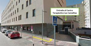 ENTRADA CENTRO TERAPEUTICO LAS CARMELITAS AMDEA