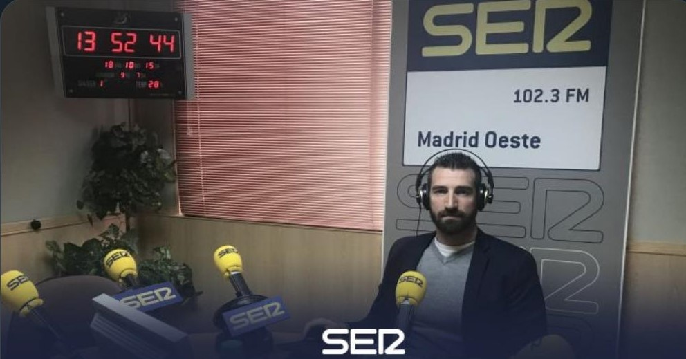 CONOCIENDO MÁS DE CERCA LA ESPONDILITIS EN LA CADENA SER MADRID OESTE