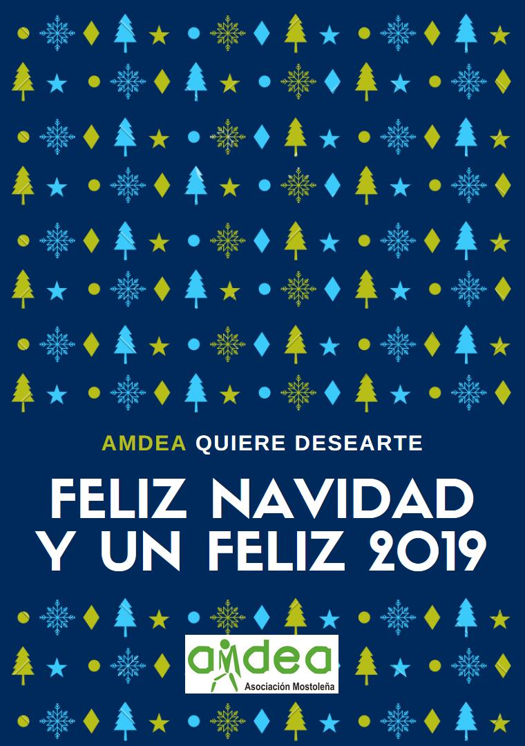 AMDEA TE DESEA FELIZ NAVIDAD Y UN PRÓSPERO 2019