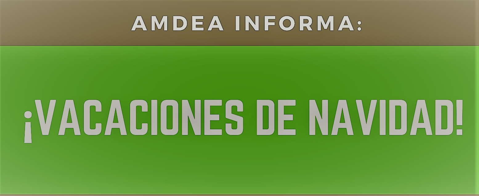 CIERRE DE LA SEDE POR LAS VACACIONES DE NAVIDAD
