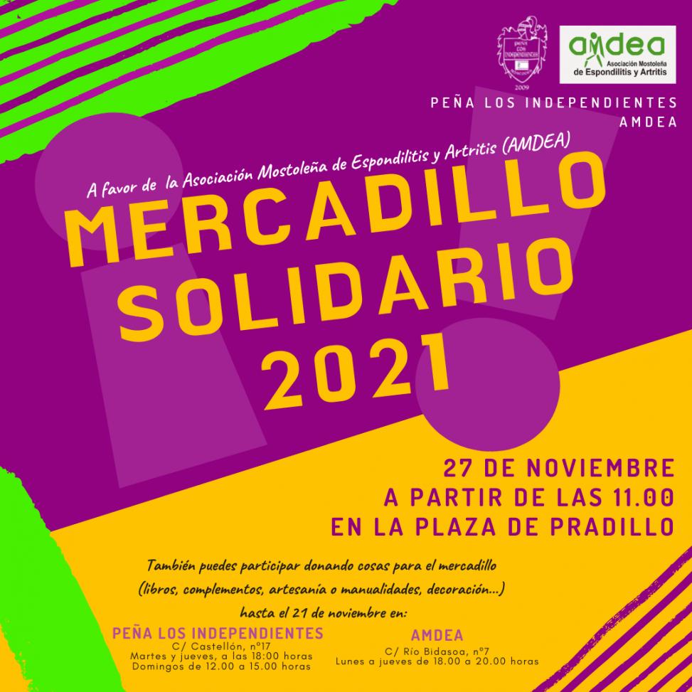 MERCADILLO SOLIDARIO 2021